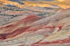 wzgórza mitchell Oregon malował zmierzch Zdjęcie Stock