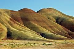wzgórza Oregon malujący Zdjęcia Stock