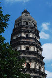 wzgórza pagody tygrys Obraz Royalty Free