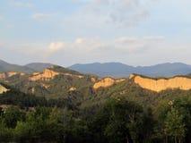 Wzgórza pod słońcem zdjęcie stock