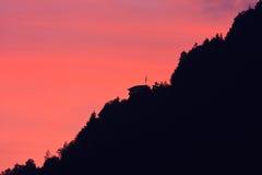 wzgórza punkt obserwacyjny fotografia stock