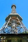wzgórza punkt obserwacyjny petrin Prague wierza Obraz Stock