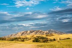Wzgórza w Chui dolinie Zdjęcie Royalty Free