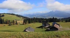 Wzgórza w jesieni Obraz Stock