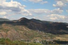 Wzgórza w republika czech zdjęcie royalty free