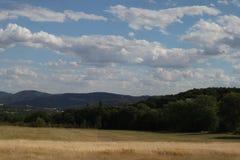Wzgórza w republika czech fotografia royalty free
