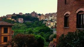 Wzgórza w Siena obraz royalty free