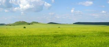 wzgórza w warunkach polowych Obraz Royalty Free