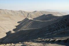 Wzgórza zakrywający powulkanicznymi popiółami, Wielki rift valley, Tanzania, Wschodni Afryka Fotografia Royalty Free