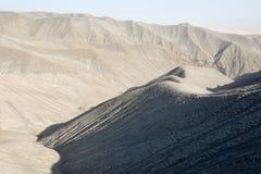 Wzgórza zakrywający powulkanicznymi popiółami, Wielki rift valley, Tanzania, Wschodni Afryka Obraz Royalty Free