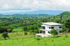 wzgórze dom Zdjęcia Stock