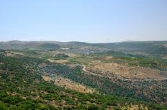 Wzgórze Golan Zdjęcie Royalty Free