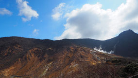 Wzgórze i niebo Zdjęcia Royalty Free
