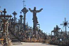 Wzgórze krzyże, Šiauliai, Lithuania Obraz Royalty Free