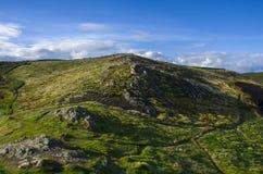 Wzgórze na Irlandia Obrazy Royalty Free