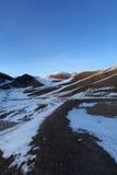 wzgórze śnieg Obraz Stock