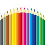 wzgórze ołówki ilustracja wektor