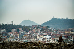 Wzgórze osamotniony Plovdiv, Bułgaria Zdjęcia Stock