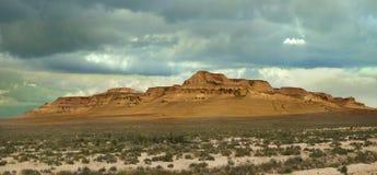 Wzgórze plateau Ustyurt Zdjęcie Royalty Free