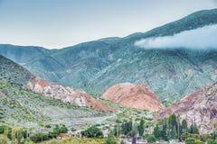 Wzgórze Siedem kolorów w Jujuy, Argentyna. Obraz Stock