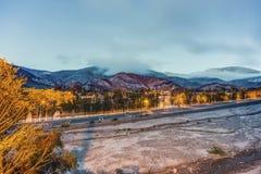Wzgórze Siedem kolorów w Jujuy, Argentyna Obraz Royalty Free