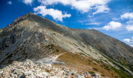 Wzgórze Tupa w Wysokim Tatras, Sistani Zdjęcie Stock
