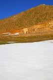 wzgórze w Africa Morocco atlant dolina sucha Obrazy Stock