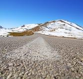 wzgórze w Africa Morocco atlant doliny góry sucha ziemia Fotografia Stock