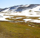 Wzgórze w Africa Morocco atlant doliny góry sucha ziemia jest Obraz Royalty Free