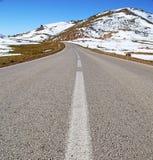 Wzgórze w Africa Morocco atlant doliny góry sucha ziemia jest Obraz Stock