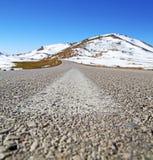 Wzgórze w Africa Morocco atlant doliny góry sucha ziemia jest Fotografia Royalty Free