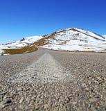 Wzgórze w Africa Morocco atlant doliny góry sucha ziemia jest Zdjęcia Royalty Free