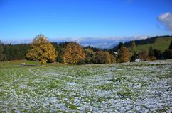Wzgórze w Austria Obrazy Royalty Free