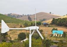 wzgórze wiatraczek Zdjęcie Stock