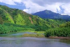 wzgórze wyspa Zdjęcia Royalty Free
