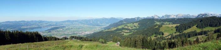 wzgórze zielona panorama Obraz Stock