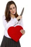 Wzgardzający kochanek Zdjęcie Stock