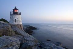 wzgórze grodowa latarnia morska Zdjęcia Royalty Free