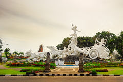 Satria gatotkaca statua, Bali Zdjęcie Royalty Free