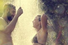 wziąć prysznic zdjęcie stock