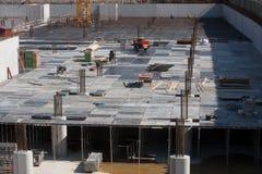 Wzmacnienie dla betonowej podstawy Obraz Royalty Free