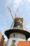Wznawiający Holenderski wiatraczek w Waasenaar, Holandia Fotografia Royalty Free
