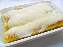 wznoszący toast masło chlebowy cukier Obraz Royalty Free