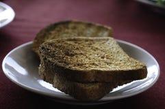 Wznoszący toast chleb zdjęcia royalty free