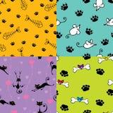 wzorów śliczni zwierzęta domowe Obrazy Stock