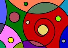 Wzorów bąble ilustracja wektor