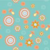 Wzorów kwiaty Obraz Royalty Free