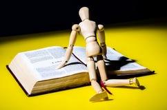 Wzorcowa czytelnicza biblia. Obraz Stock