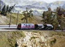 wzorcowa linia kolejowa Zdjęcie Royalty Free