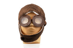 Wzorcowa mannequin głowa z pilotową nakrętką Obrazy Stock